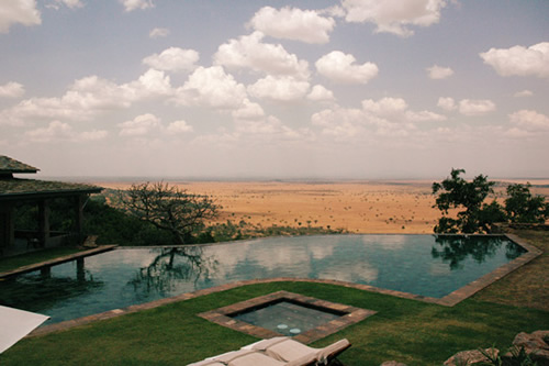 Main Pool, Singita Grumeti Reserves Sasakwa Lodge – Tanzânia