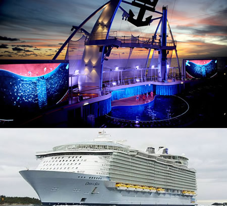 "Royal Caribbean ""Oasis of the Seas"" – Caraíbas"